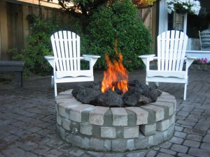 Visit ProGas North Shore for advice on the perfect outdoor fire pit or brick fireplace