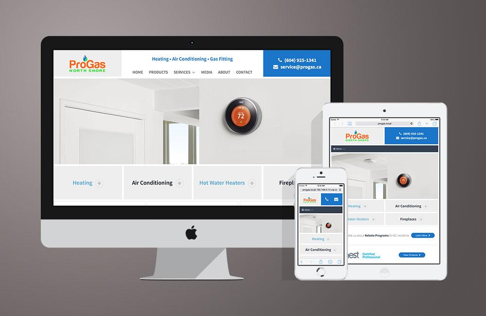 Pro Gas Website Design Visco Design